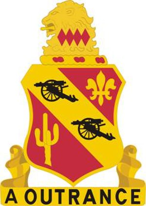112th Field Artillery Regiment - Image: 112FARegt DUI