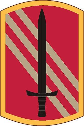 North Carolina Army National Guard - Image: 113sbunitinsignia