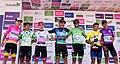 11 Etapa-Vuelta a Colombia 2018-Todos los lideres despues Etapa 11.jpg