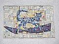 1210 Jedleseerstraße 79-95 Stg. 13 - Mosaik-Hauszeichen Katze von Theobald Schmögner 1955 IMG 0640.jpg