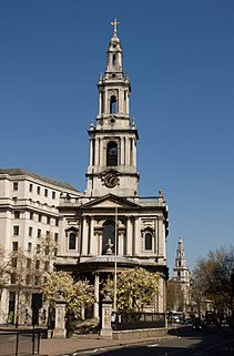 St Mary le Strand Church in London