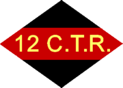 12th Canadian Army Tank Regiment unit patch