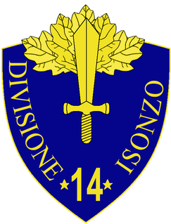 14th Infantry Division Isonzo division