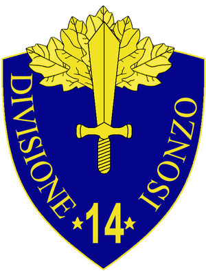 14th Infantry Division Isonzo - 14th Infantry Division Isonzo Insignia