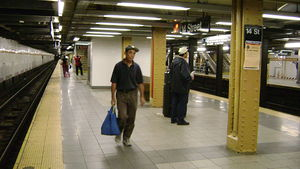 14th Street/Eighth Avenue (New York City Subway) - Image: 14th Street (Eighth Avenue Line)