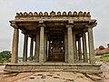 14th century Sasivekalu Ganesha Hindu Temple, Hampi Karnataka India 2.jpg