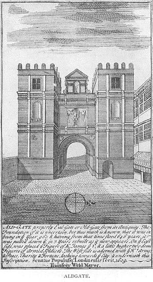 Aldgate - Image: 1600 Aldgate