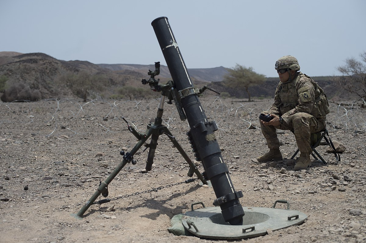 U S Army Heavy Mortar Platoon : M mortar wikipedia