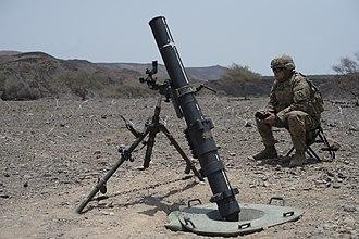 M252 mortar - Image: 160808 F VH066 018
