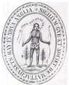 1629 seal Massachusetts Bay Colony MassachusettsArchives.png