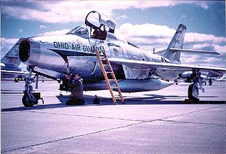 179th Airlift Wing - 179th TFG F-84F Thunderstreak, 51-9432