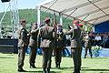16 obljetnica vojnoredarstvene operacije Oluja 05082011 Pocasno zastitna bojna pocasno ceremonijalni program 397.jpg