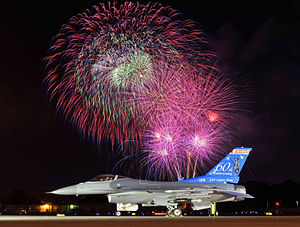 115th Fighter Wing - Image: 176th Fighter Squadron 60th Anniversary F 16
