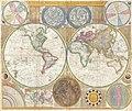 1794 Samuel Dunn Wall Map of the World in Hemispheres - Geographicus - World2-dunn-1794.jpg