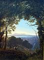 1817 Schinkel Blick auf eine italienische Landschaft anagoria.JPG
