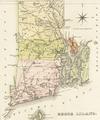1822 map Rhode Island byLucasFielding BPL 14937.png
