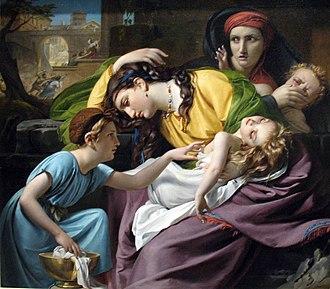 François-Joseph Navez - Image: 1824 Navez Das Massaker der Unschuldigen anagoria