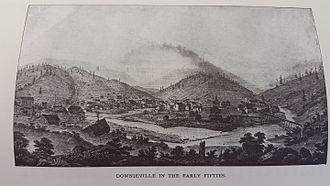 Downieville, California - 1850s Downieville