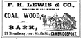 1878 Lewis advert Cambridge Massachusetts.png