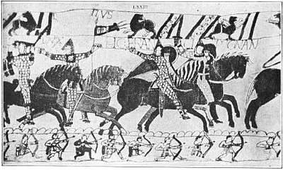 1911 Britannica - Bayeux Tapestry - William.png