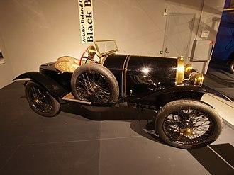 Bugatti Type 18 - Image: 1913 Bugatti Type 18 Sports Two seater Black Bess p 2