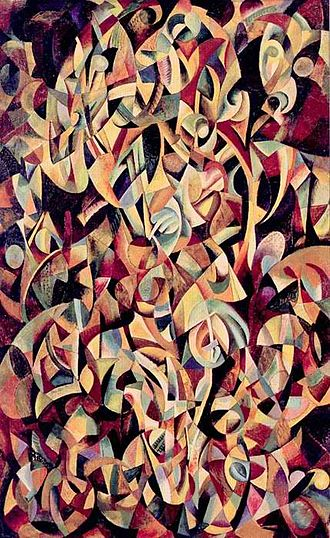 Kinetic art - Alexander Rodchenko Dance. An Objectless Composition, 1915