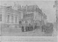 1916 - Casa lui Take Ionescu devastată de trupele de ocupaţie germane - foto din revista germană Ilustrirte Zeitung 16 decembrie 1916.PNG