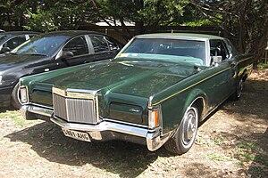 Lincoln Continental Mark III - 1970 Lincoln Continental Mark III