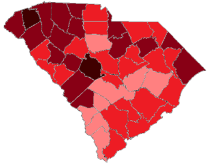 United States presidential election in South Carolina, 1972 - Image: 1972 SC Elections