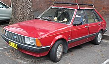 1982 Ford Laser (KA) Ghia 5-door hatchback (22643862523).jpg