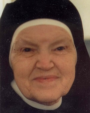 Pascalina Lehnert - Madre Pascalina in 1983 at age 88