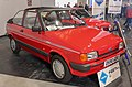 1987 Ford Fiesta L Cabriolet (Hutchinson Design conversion) 1.1 Front.jpg