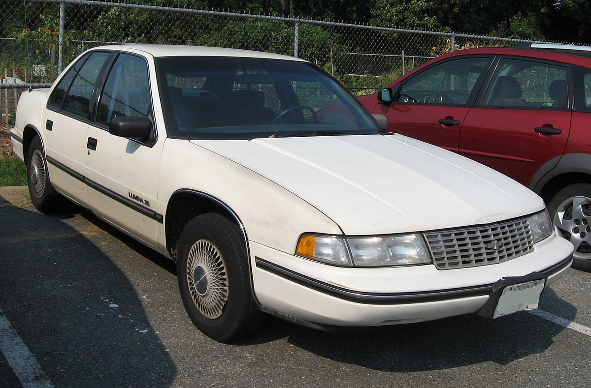 Impala 1990 chevrolet impala : Chevrolet Lumina - Simple English Wikipedia, the free encyclopedia
