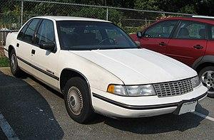 Chevrolet Lumina - 1990 Chevrolet Lumina sedan