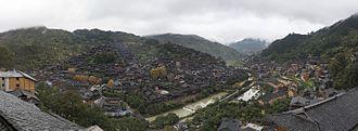 Guizhou - Xijiang, a Miao settlement in Eastern Guizhou