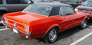 Notchback - 1967 Ford Mustang Hardtop