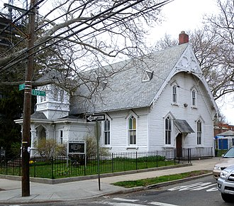 College Point, Queens - Sanctuary of First Reformed Church on 119th St