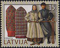20041106 15sant Latvia Postage Stamp.jpg