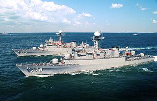 <i>Pohang</i>-class corvette Ship class