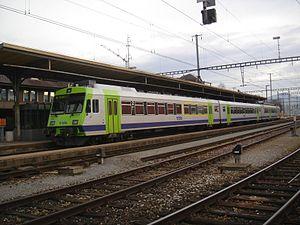 Konolfingen - Konolfingen railway station today