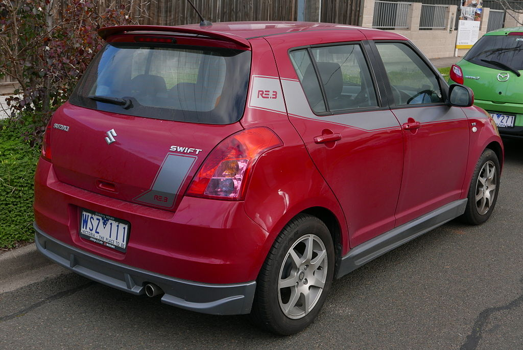 Suzuki Swift Re  Specs