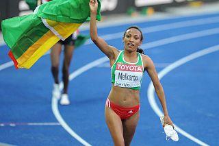 Meselech Melkamu Ethiopian long-distance runner
