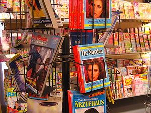 Deutsch: Groschenromane im Angebot des Zeitung...