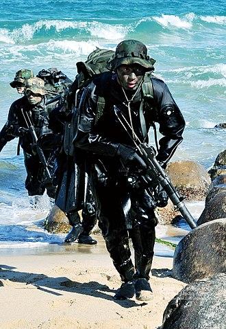 Republic of Korea Navy Special Warfare Flotilla - SWF operators