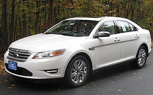 Ford Taurus (sixth generation) - 2010 Ford Taurus Limited