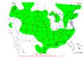 2011-01-10 24-hr Precipitation Map NOAA.png