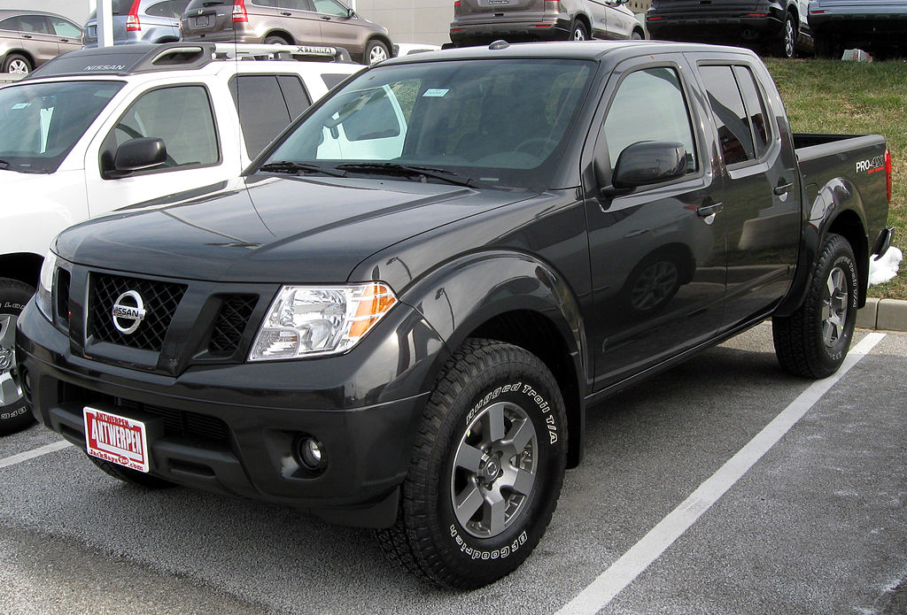 File2011 Nissan Frontier 12 31 2010g Wikimedia Commons