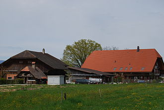 Ferenbalm - Farm house in Ferenbalm municipality