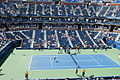2012 US Open Novak Đ vs Rogerio D. Silva7.JPG