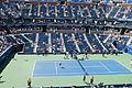 2012 US Open Novak Đ vs Rogerio D. Silva7.JPG